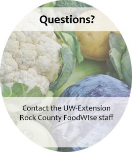 Questions? Contact the Rock County FoodWIse staff